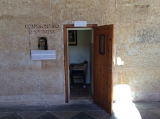 confessional-in-salamanca-where-teresa-met-with-domingo-banez